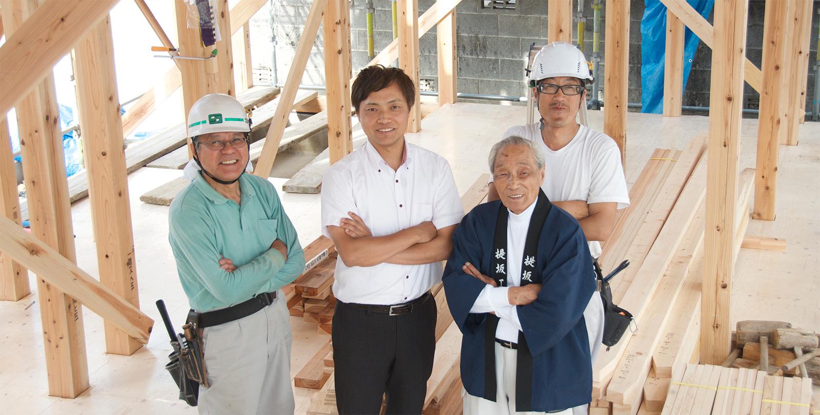島田市・藤枝市で長期優良住宅を建てる職人