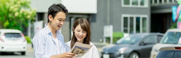 島田市・藤枝市の新築一戸建て資料から情報を得る