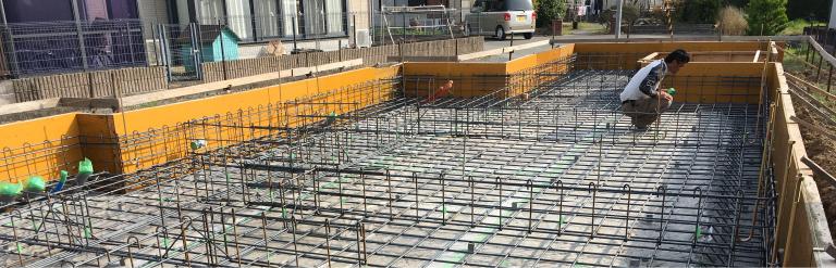 島田市・藤枝市の新築一戸建ての工事チェック