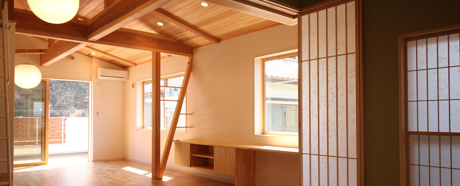 島田市の注文住宅のインテリア